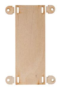 Voertuig bodemplaat - klein (3 x 50 x 130 mm)