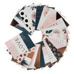 24 cartons illustrés Blush - My Mind's Eye