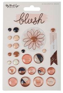 24 pinces déco Blush - My Mind's Eye