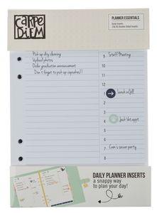 Carpe Diem - Basic dagplanner inlegvellen