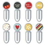 Carpe Diem - Say Cheese III metalen clips, 8 stuks