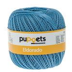 Haakgaren Puppets Eldorado (50g/265m) azuurblauw