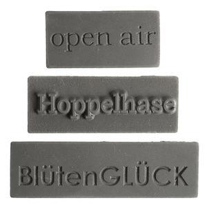 Zeeplabel mal met Duitse teksten - Pasen, 3 stuks