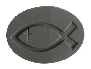 Etiqueta para moldear - Pez cristiano