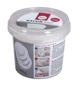 Gietpoeder Raysin 200, wit, 400 g