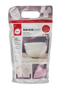 Gietpoeder Raysin 200, wit, 1 kg