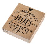 Stempel Make your dreams happen (80 x 90 x 25 mm)