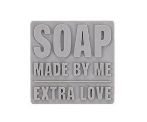 Zeepgietvorm vierkant - soap (4,8 x 4,8 cm)