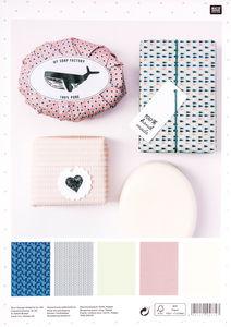 Papel de regalo para jabones Rico Design® - Hygge
