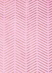 Katoenen stof - ZigZag (50x140 cm) roze/hotfoil