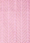 Baumwollstoff, Hotfoil-Streifen rosa (50 x 140 cm)