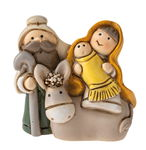Resina - Santa Famiglia con asino