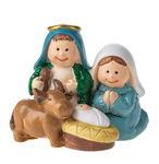 Resina - Santa Famiglia con bue