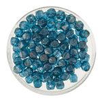 Rocallas envejecidas (4 mm) azul petróleo, 120 ud.