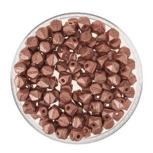 Perles de rocaille antique, 120 pièces cuivre