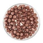 Rocallas envejecidas, 120 ud., Color cobre (4mm)