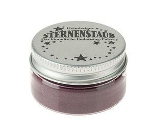 Embossing Pulver, Sternenstaub merlot  (14 ml)