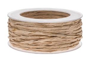 Cinta de papel enroscada (40mx3mm) marrón