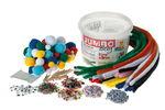 Lote de manualidades Jumbo, 1.500 piezas, en cubo