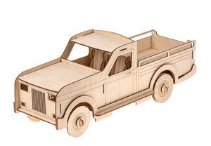 Holzbausatz 3D Lastwagen groß, 30-teilig