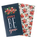 Echo Park Paper Co.-Notizhefte, 2er-Set Blumen