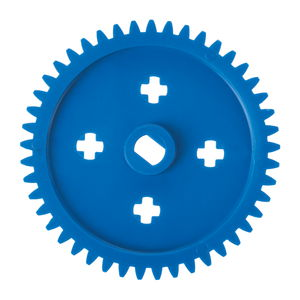 Engrenages en plastique module 1, ø 47 mm