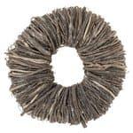 Houten krans van twijgjes (20 x 7 cm) bruin