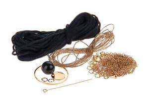 Set de bijoux collier Boho avec houppe,9 éléments
