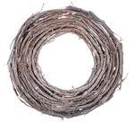 Wijnranken krans (ø 30 x 2 cm) wit gewassen