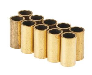 Casquillos de latón, 10 ud. (0,5 x 5 x 7 mm)