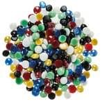 Glas-Nuggets opak, 1000 g bunt (17-20 mm)