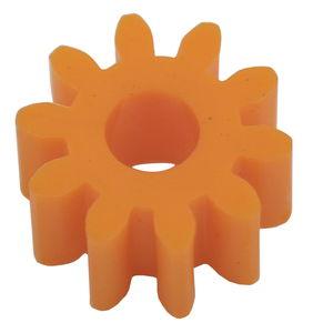 Tandwielen (12 mm/10 tanden) oranje, 10 stuks