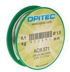 Elektronica soldeer AOX, 100 g (1,5 mm)
