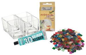 Set creativo mosaico - un mare di luci