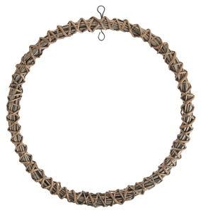 Corona de mimbre, para colgar, 35 cm