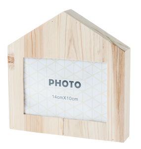 Cadre-photo en bois -Maison-, A suspe...,