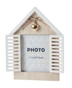 Cadre-photos en bois - Maison, A pose...,