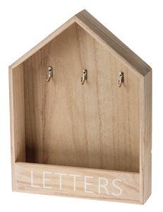 Armoire à clés en bois pour la maison,