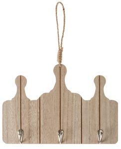 Holzhänger Küchenbretter mit Haken (28,5x19,5cm)