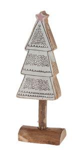 Décoration en bois - Sapin de Noël« ,