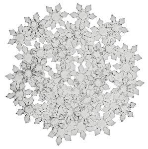 Acryl-Eiskristalle, 48 Stück (28 mm)