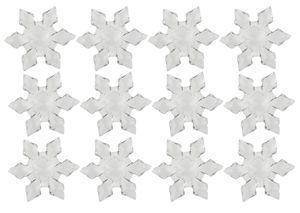 Acryl-Eiskristalle, 12 Stück (45 mm)