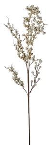 Branche de baies artificielle, blanc/naturel