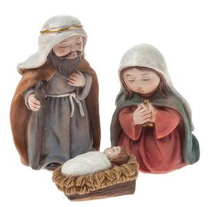 Heilige Familie Resin 3er-Set (2 -7,5 cm)