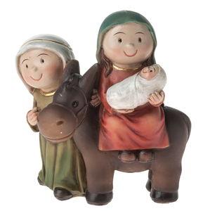 Resin - Heilige Familie (7 x 4 x 7,6 cm)