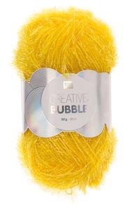 Creative Bubble Garn 50g/90m, gelb