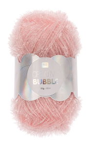 Creative Bubble Garn 50g/90m, rosa
