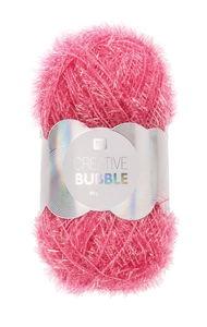 Creative Bubble Garn 50g/90m, pink