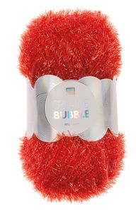 Creative Bubble Garn 50g/90m, rot