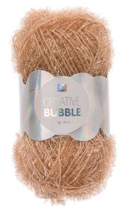 Creative Bubble Garn 50g/90m, puder